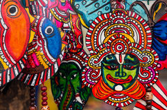 Peintures fabriquées à la main des dieux indiens Images stock