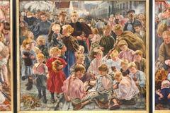 Peintures impressionnistes Image libre de droits