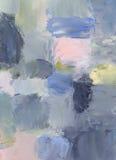 Peintures à l'huile sur le panneau dur Images libres de droits
