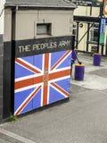 Peintures murales à Belfast Image libre de droits