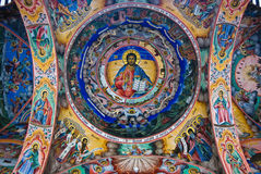 Peintures murales chrétiennes Photos libres de droits