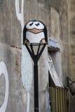 Peintures murales de Catane, Italie Images libres de droits