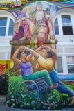 Peintures murales de mission Photo libre de droits