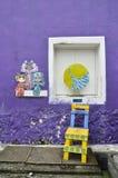 Peintures murales Georgetown Malaisie de Penang Photo libre de droits
