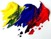 Peintures primaires Images libres de droits