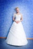 Peinzende bruid Royalty-vrije Stock Fotografie