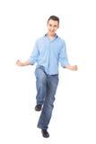 Peinzende jonge mens Royalty-vrije Stock Foto