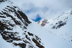 Peio - Val di Единственн, Dolomiti di Brenta Стоковая Фотография