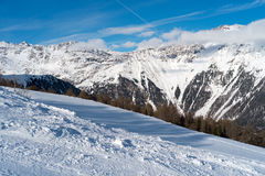Peio - Val di Единственн, Dolomiti di Brenta Стоковая Фотография RF