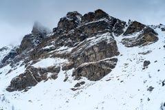 Peio - Val di Единственн, Dolomiti di Brenta Стоковое фото RF