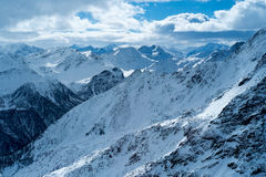 Peio - Val di Единственн, Dolomiti di Brenta Стоковые Изображения