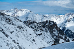 Peio - Val di Единственн, Dolomiti di Brenta Стоковое Изображение RF