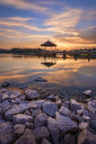 Peirce Reservoir Royalty Free Stock Image