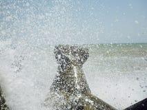 Peisage roumain La Mer Noire Photos libres de droits