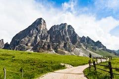 Peitlerkofl, el Tyrol del sur Fotos de archivo