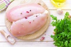 Peito de frango Imagem de Stock