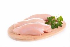 Peito de frango cru Imagem de Stock Royalty Free