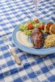 Peito de frango grelhado Imagem de Stock Royalty Free