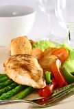 Peito de galinha Fotos de Stock