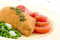 Peito de galinha cozido Imagens de Stock Royalty Free