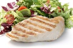 Peito de galinha grelhado imagem de stock