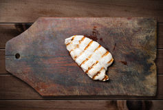 Peito de galinha grelhado. fotos de stock