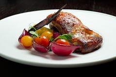 Peito de galinha grelhado imagem de stock royalty free