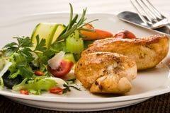 Peito de galinha grelhado picante Imagem de Stock Royalty Free