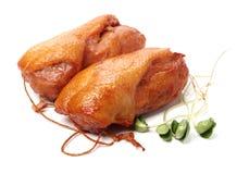 Peito de pato cozinhado foto de stock