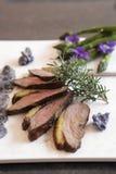 Peito de pato grelhado com rosemary Imagem de Stock Royalty Free