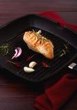 Peito grelhado da galinha Imagem de Stock