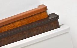 Peitoril diferente da janela do PVC Imagem de Stock