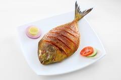 Peixe frito Fotos de Stock