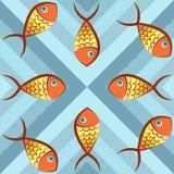 Peixes abstratos Imagem de Stock Royalty Free