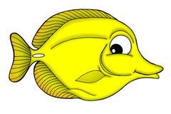 Peixes amarelos da espiga Imagens de Stock Royalty Free