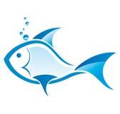 Peixes azuis ilustração stock