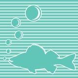 Peixes azuis Ilustração Royalty Free