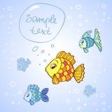 Peixes bonitos Fotografia de Stock Royalty Free