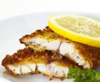 Peixes brancos panados Imagem de Stock