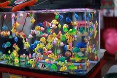 Peixes coloridos Imagens de Stock Royalty Free