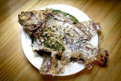Peixes comidos Foto de Stock Royalty Free