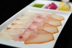 Peixes cortados. foto de stock royalty free