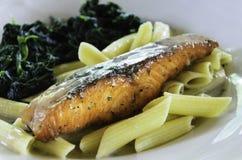 Peixes cozidos Fotografia de Stock