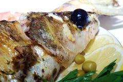 Peixes cozidos Imagens de Stock