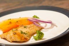 Peixes cozinhados fotos de stock royalty free