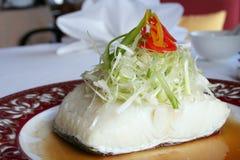 Peixes cozinhados da neve Imagens de Stock Royalty Free