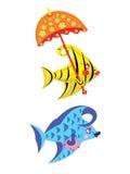 Peixes da beleza. ilustração stock