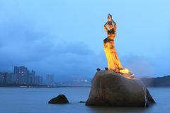 Peixes da fêmea de Zhuhai Imagens de Stock Royalty Free