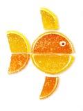 Peixes das geléias de fruta Imagens de Stock