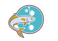 Peixes das savelhas ilustração stock